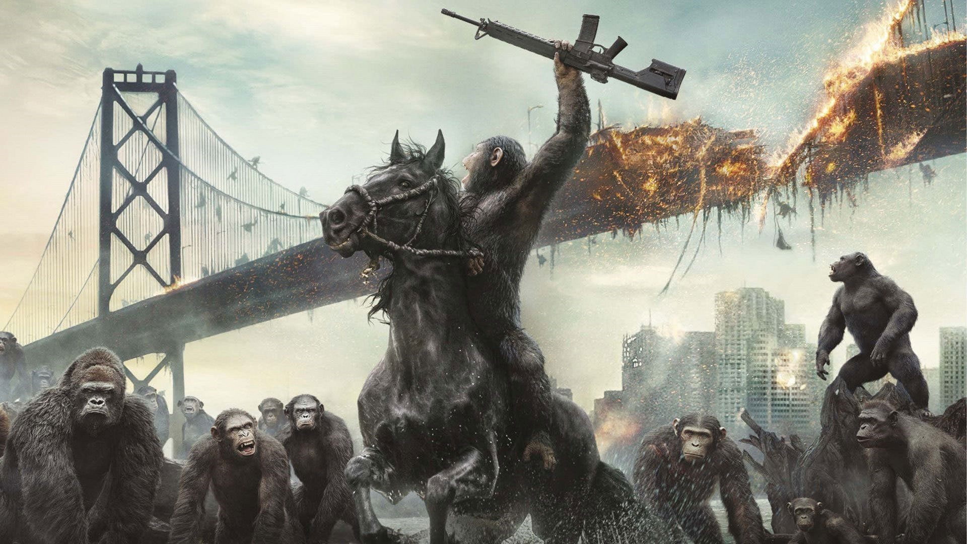 گیشه: معرفی فیلم Dawn of the Planet of the Apes