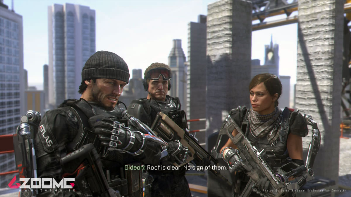call of duty advanced warfare 29 - بازی اورجینال Call of Duty Advanced Warfare پلی‌استیشن ۴