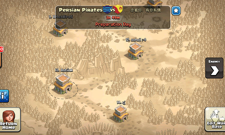 Clash of Clan War