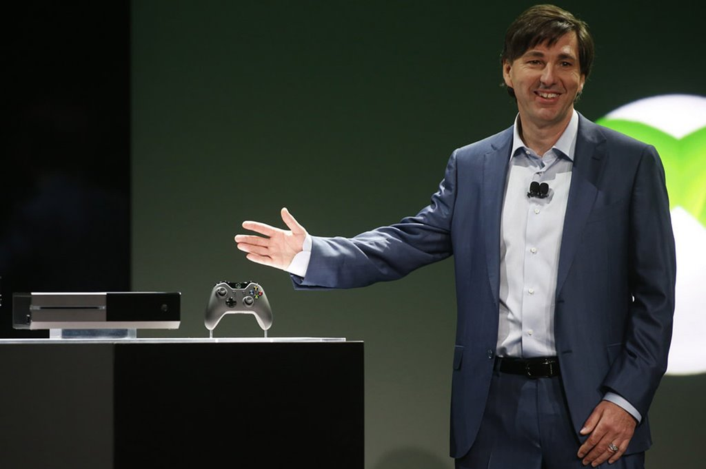 Don-Mattrick-President-of-the-Interactive-Entertainment-Business-at-Microsoft-reveals-the-Xbox-One