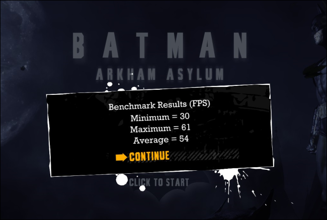 batman benchmarks
