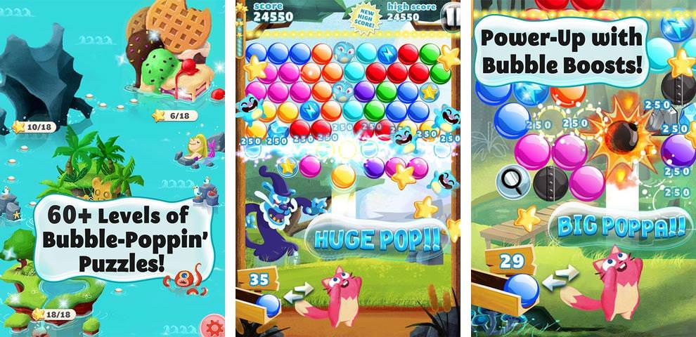 Viber-Game-Bubble-Mania