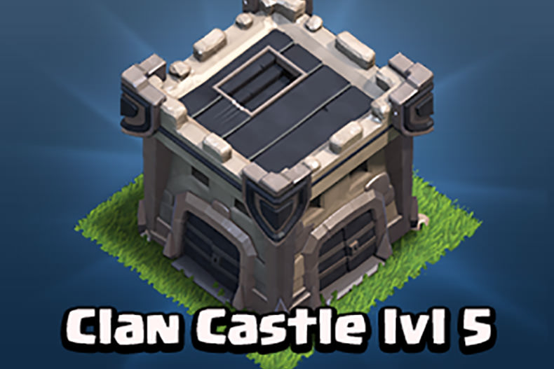 همه چیز درباره Clash of Clans: قلعه کلن (Clan Castle)