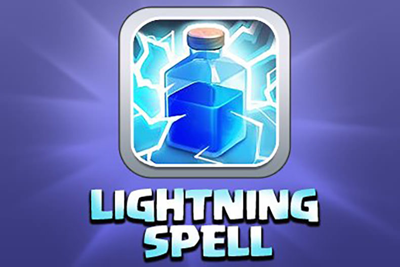همه چیز درباره Clash of Clans: جادو صاعقه (Lightning Spell)