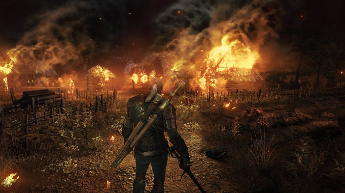 The Witcher 3 in 2013 Trailer