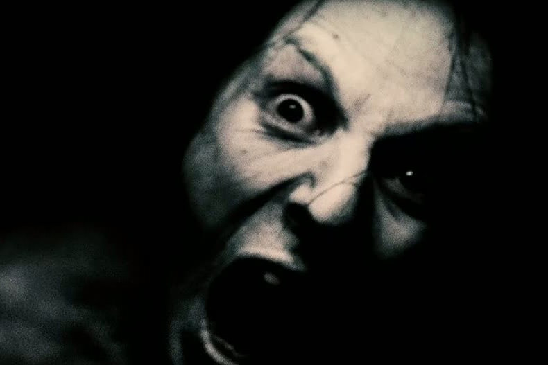 Horror film featuring a woman attacking