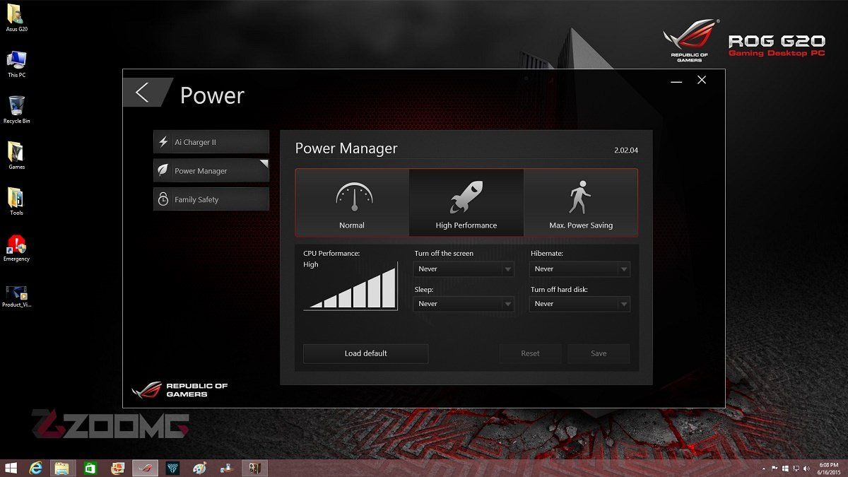 ASUS ROG G20 Power 1200