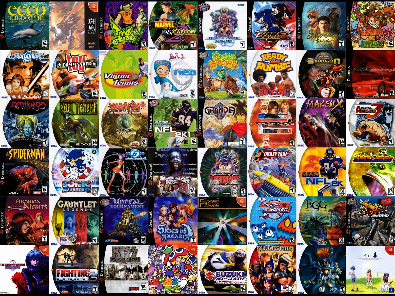Dreamcast-games-cover-art