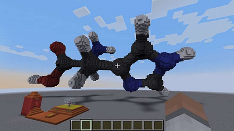 Mine craft for chemistry