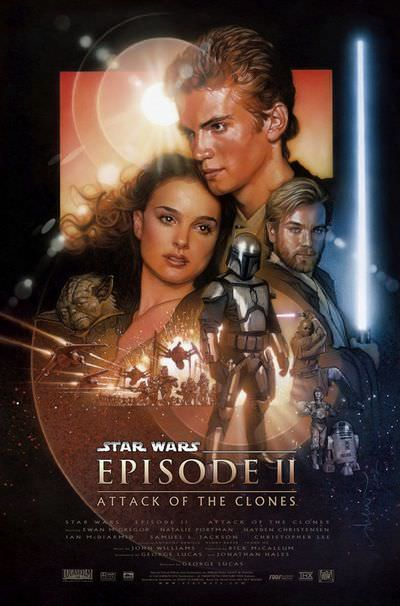 Star Wars Aattack of the Clones