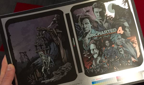 Uncharted 4 stelbook