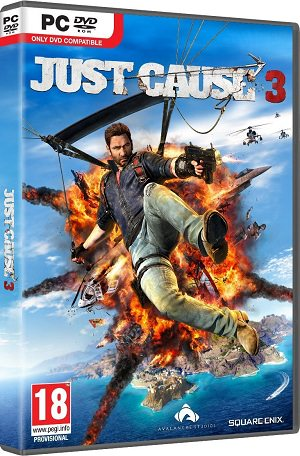 Just Cause 3  کاور باکس بازی
