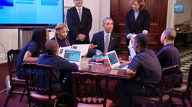 Obama Gaming New Computer Science Education Initiative