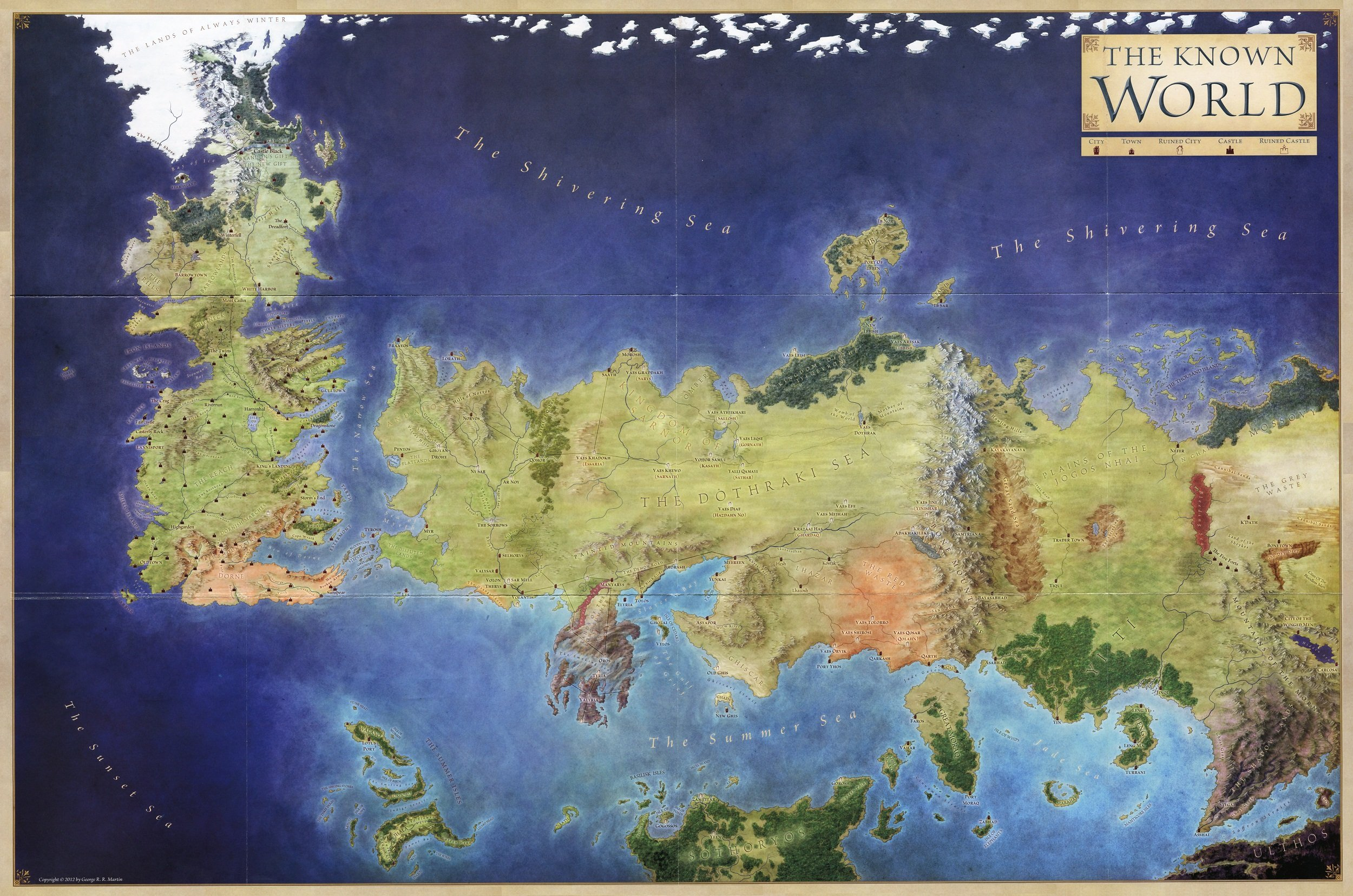 The World of Ice & Fire (3)