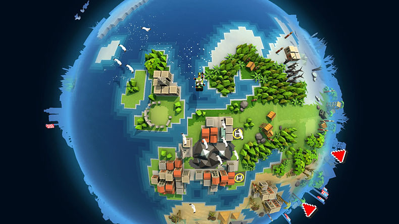Broforce world map