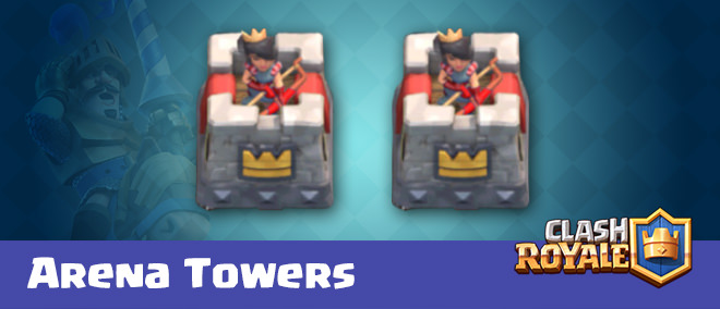 Clash Royale Arena-Towers ارنا