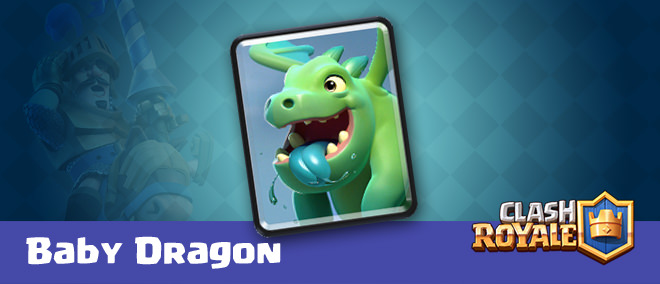 Clash Royale Baby-Dragon