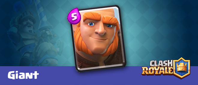 Clash Royale Giant جاینت