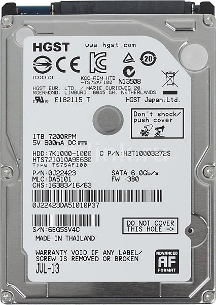 HDD 2 ZoomG