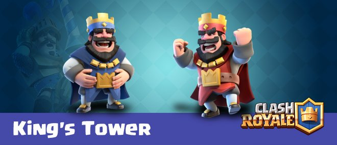 Kings-Tower کلش رویال clash royale