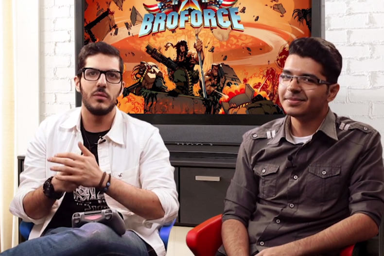 نیم نگاه زومجی: Broforce