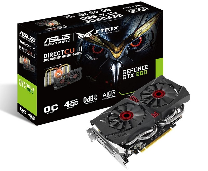 ASUS 960 4GB Zoomg