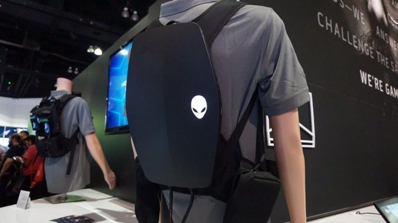 رایانه کوله پشتی Alienware برای واقعیت مجازی در E3 2016