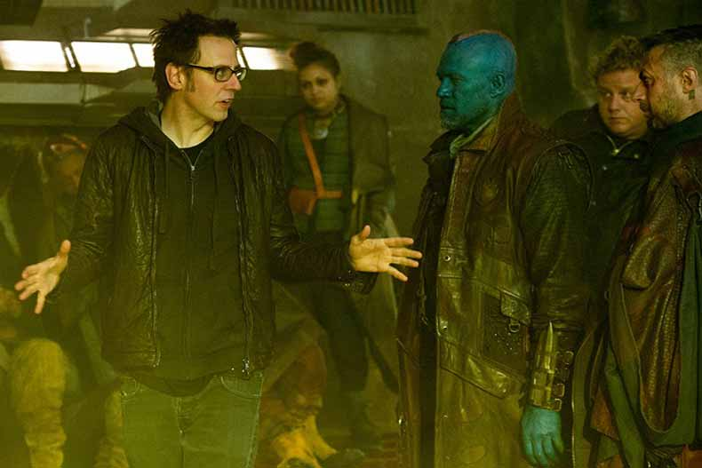 james gunn in Guardians of the Galaxy