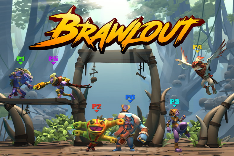 نسخه Early Access بازی Brawlout منتشر شد