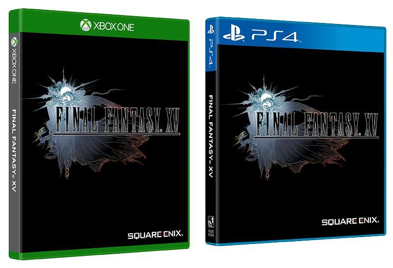 طرح جلد دوم بازی Final Fantasy XV