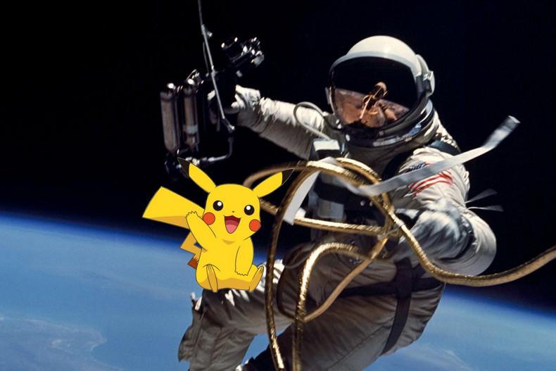 ناسا: فضانوردان ما نمیتوانند Pokemon Go بازی کنند
