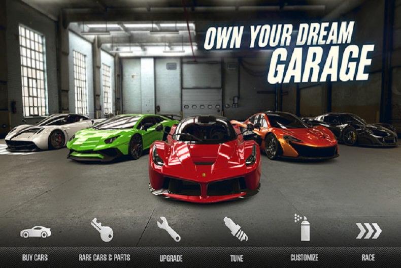 معرفی بازی موبایل CSR Racing 2