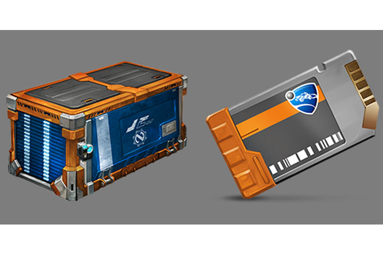 rocket league crate