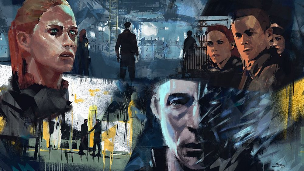 Quantum Break Art