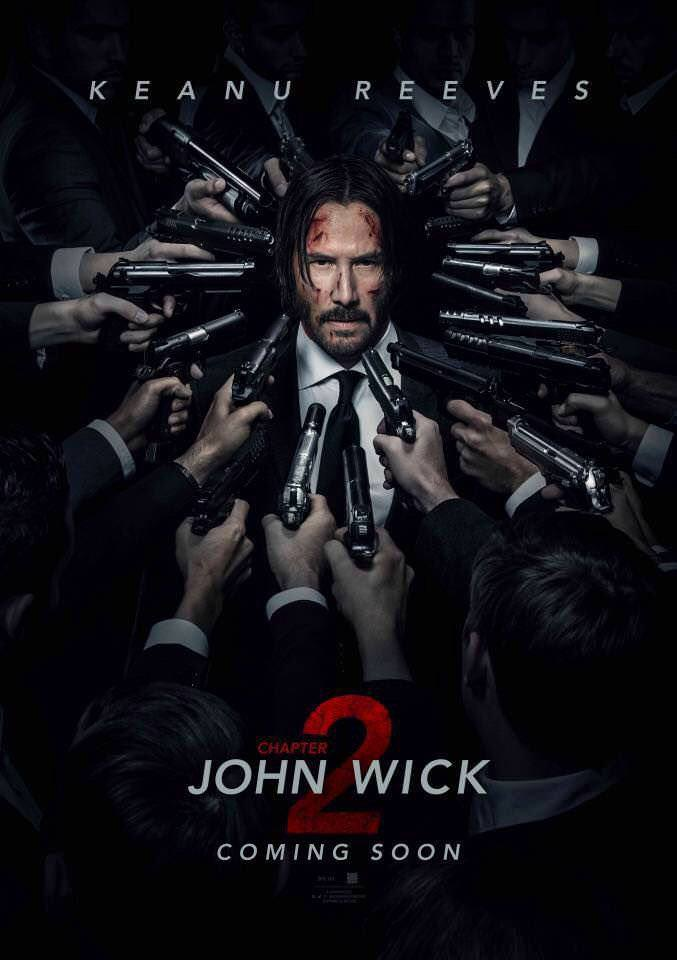 John Wick: Chapter 2 new poster