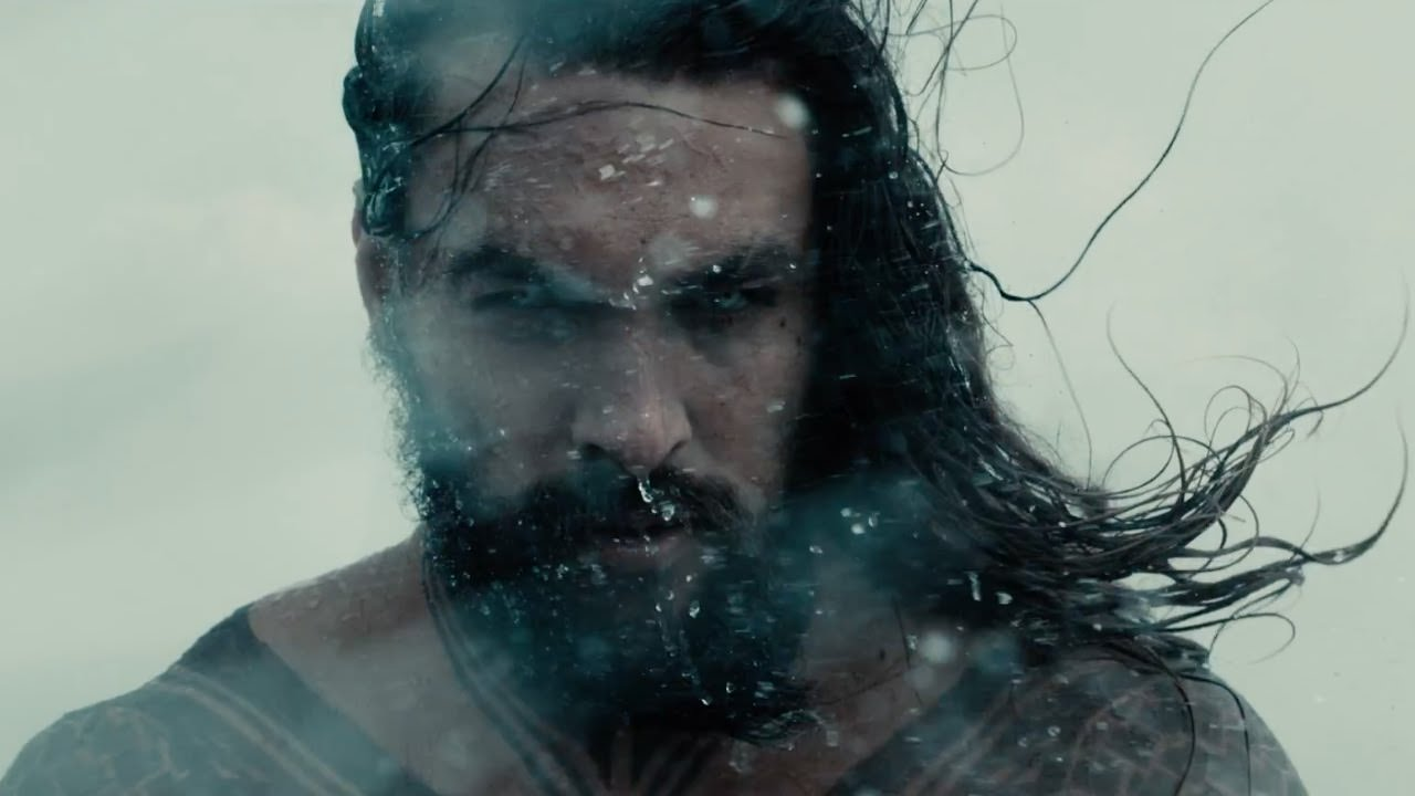 Aquaman in the Justice League trailer