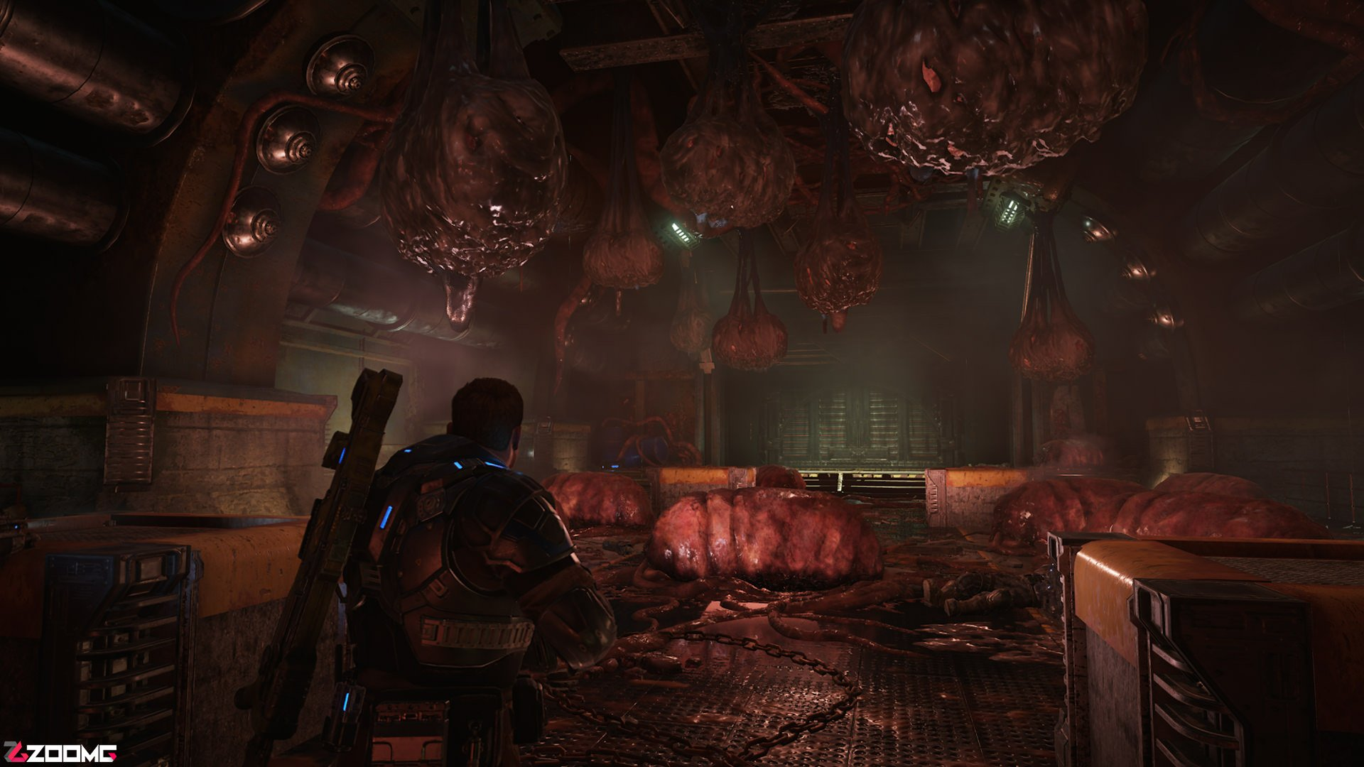 Image result for نقد بازی GEARS OF WAR 3
