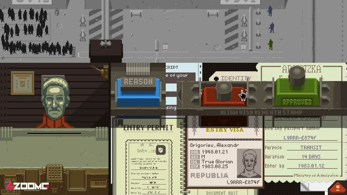 Papers, Please Zoomg