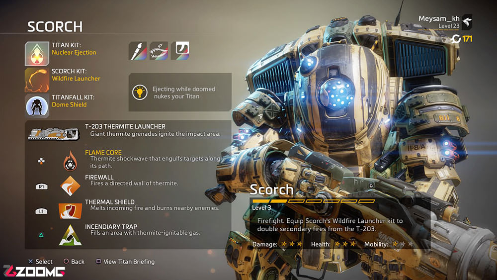 Titanfall 2 Guide Scorch