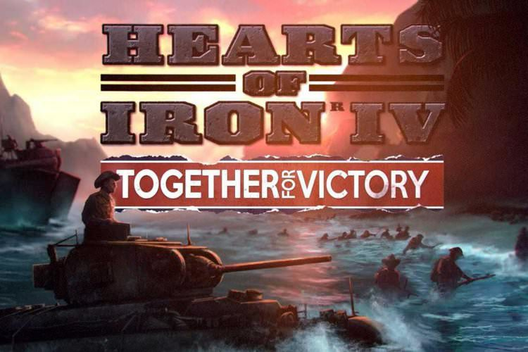 بسته الحاقی Hearts of Iron IV: Together for Victory منتشر شد