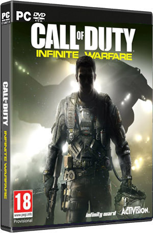 Call of Duty Infinite warfare کاور باکس بازی