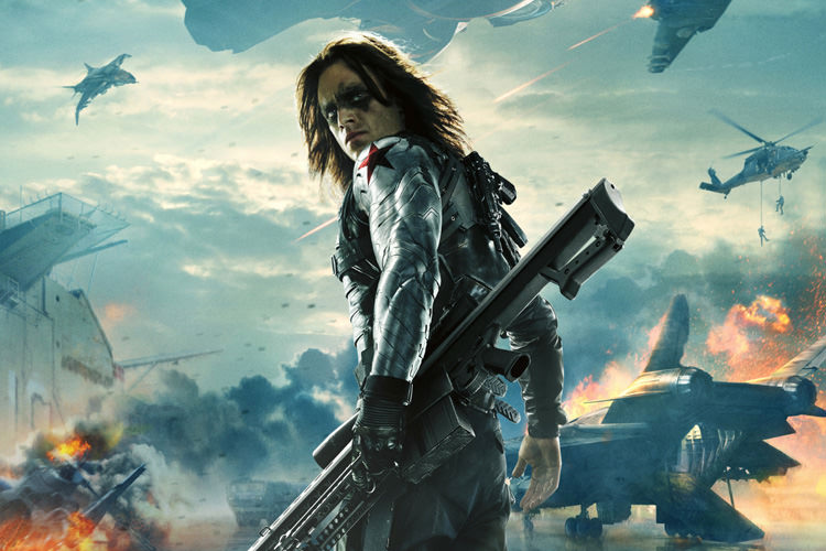 Sebastian Stan Winter Soldier