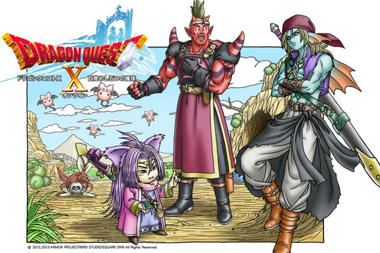 بازی Dragon Quest X برای نینتندو NX تایید شد