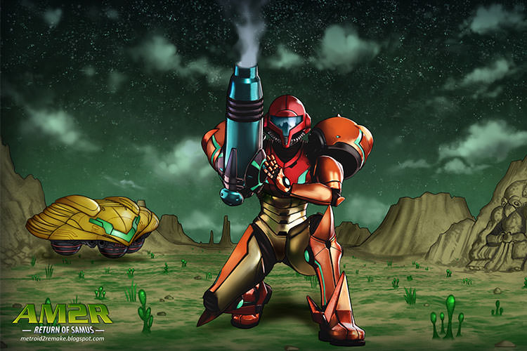 بازی Another Metroid 2 Remake: Return of Samus منتشر شد