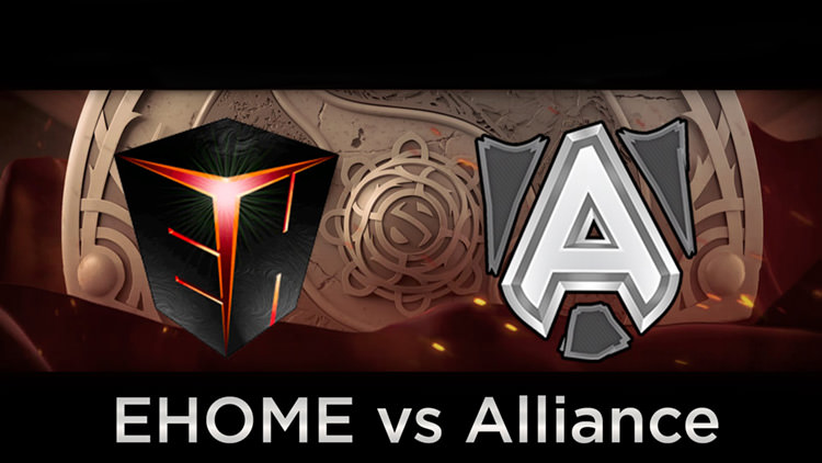 alliance vs ehome day 2 playoff ti6