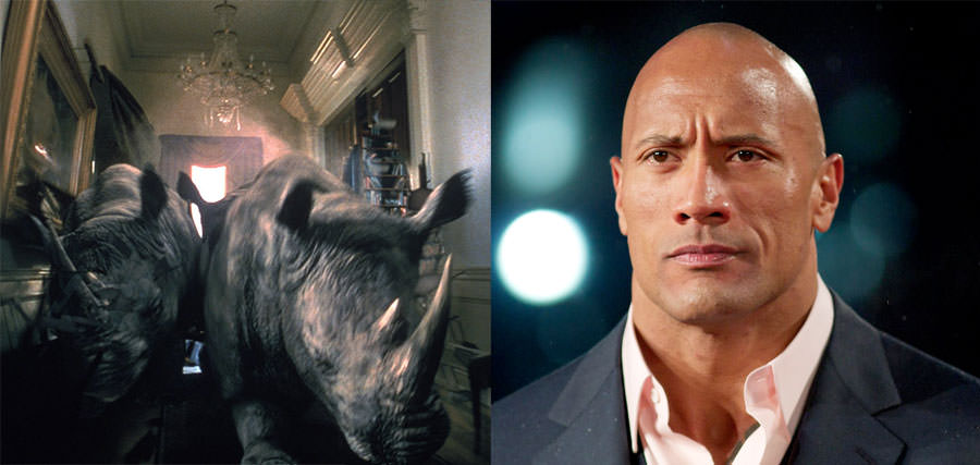 Jumanji and Dwayne Johnson