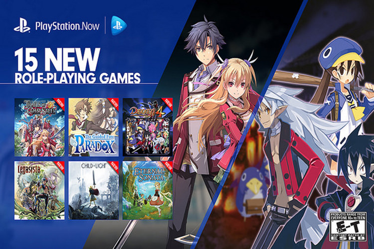 PlayStation Now role playing games