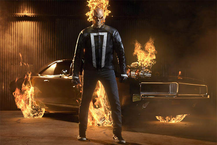 Ghost Rider in Agents of SHIELD season 4