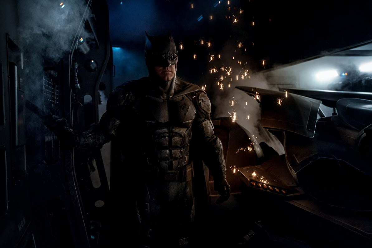 New Batman Suit Revealed for Justice League