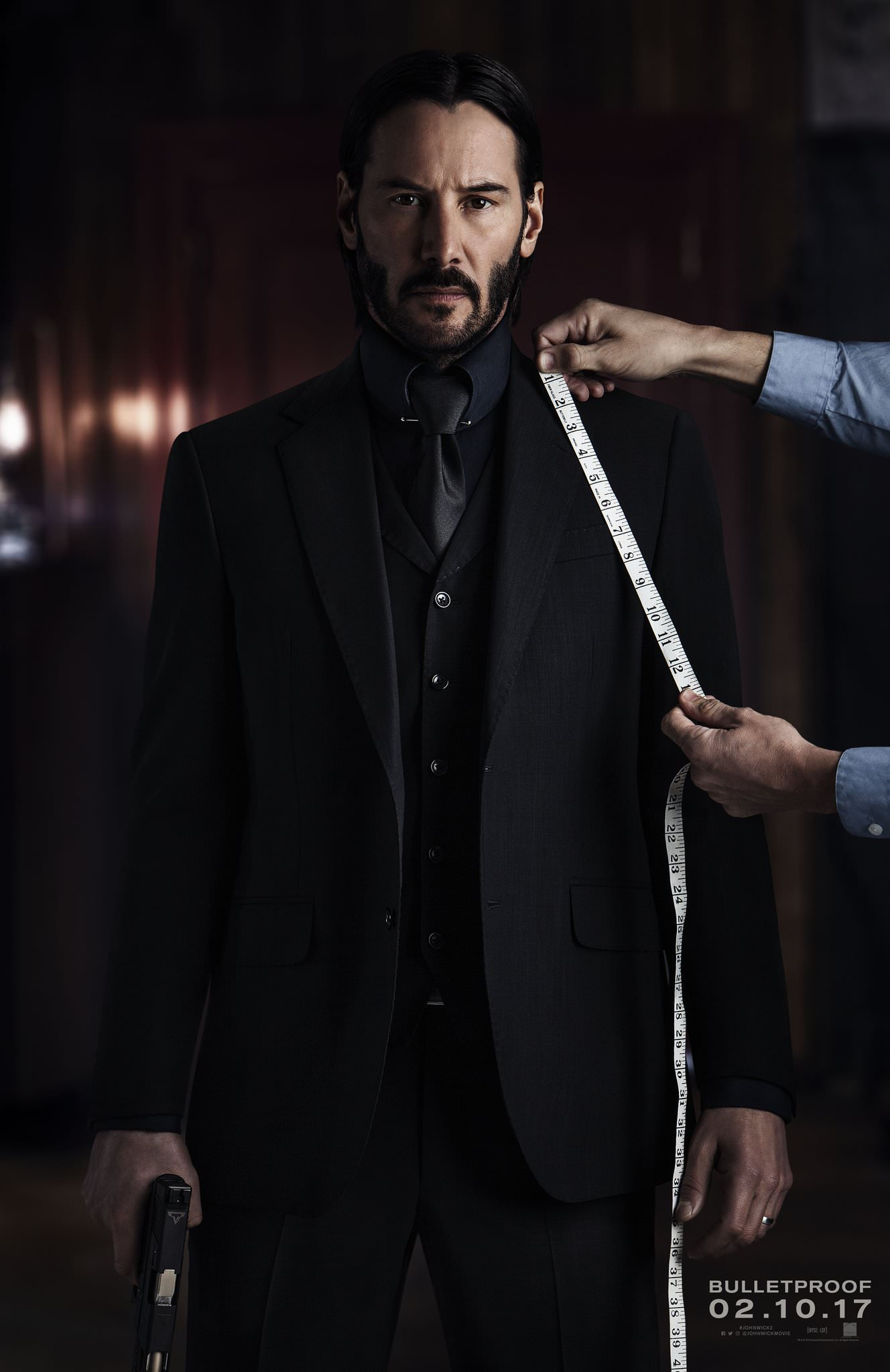 first official poster John Wick: Chapter Two